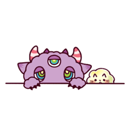 Kaiju Nemuke Sticker-English ver. sticker #8093619