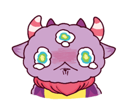 Kaiju Nemuke Sticker-English ver. sticker #8093624