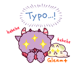 Kaiju Nemuke Sticker-English ver. sticker #8093627