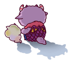 Kaiju Nemuke Sticker-English ver. sticker #8093634