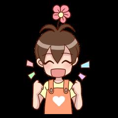 Smile Florist Boy