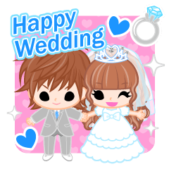 Happy Wedding -English-