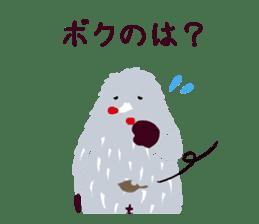 Moja, Official Tabimoja Mascot! sticker #8101256