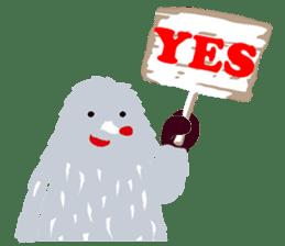 Moja, Official Tabimoja Mascot! sticker #8101268