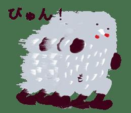 Moja, Official Tabimoja Mascot! sticker #8101270