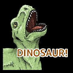 Various dinosaurs!