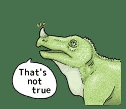 Various dinosaurs! sticker #8107320