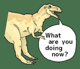 Various dinosaurs! sticker #8107321