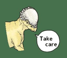 Various dinosaurs! sticker #8107323
