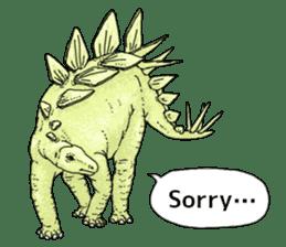 Various dinosaurs! sticker #8107327