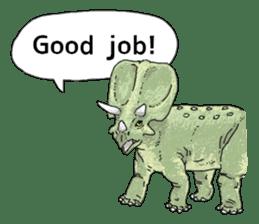 Various dinosaurs! sticker #8107330