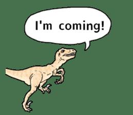 Various dinosaurs! sticker #8107334
