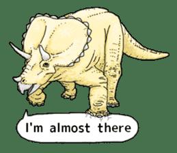 Various dinosaurs! sticker #8107335