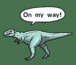Various dinosaurs! sticker #8107336