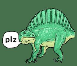 Various dinosaurs! sticker #8107339