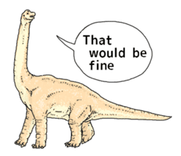 Various dinosaurs! sticker #8107341