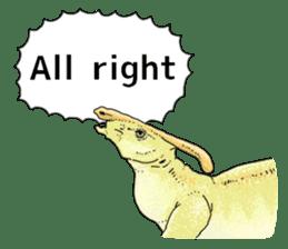 Various dinosaurs! sticker #8107343