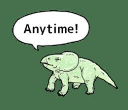 Various dinosaurs! sticker #8107346