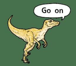 Various dinosaurs! sticker #8107347