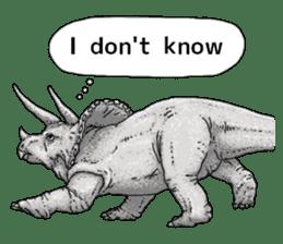 Various dinosaurs! sticker #8107348