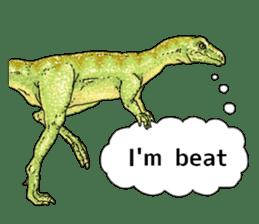 Various dinosaurs! sticker #8107352