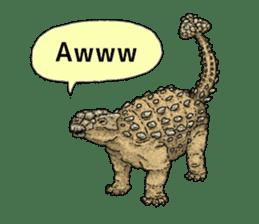 Various dinosaurs! sticker #8107353