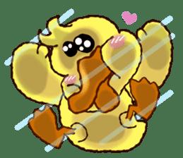 """Duck """"HO-LI-KI-YA"""" 2 sticker #8107573"""