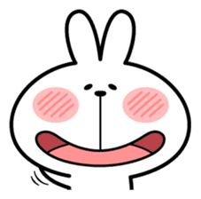 """Spoiled Rabbit """"Facial expression"""" sticker #8116422"""