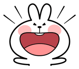 """Spoiled Rabbit """"Facial expression"""" sticker #8116425"""