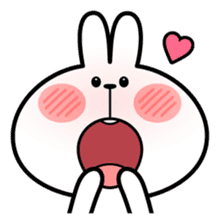 """Spoiled Rabbit """"Facial expression"""" sticker #8116428"""