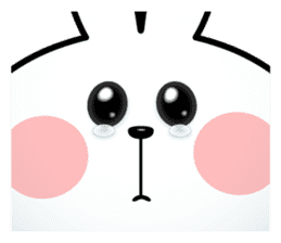 """Spoiled Rabbit """"Facial expression"""" sticker #8116439"""