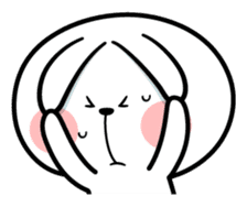 """Spoiled Rabbit """"Facial expression"""" sticker #8116444"""