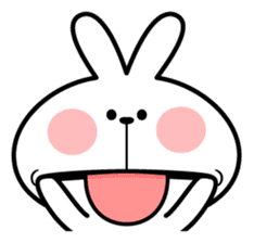 """Spoiled Rabbit """"Facial expression"""" sticker #8116456"""