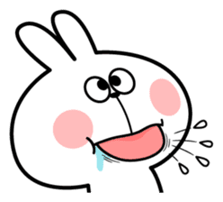 """Spoiled Rabbit """"Facial expression"""" sticker #8116457"""