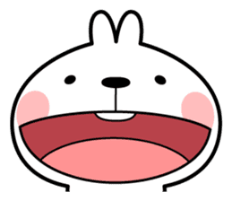 """Spoiled Rabbit """"Facial expression"""" sticker #8116459"""