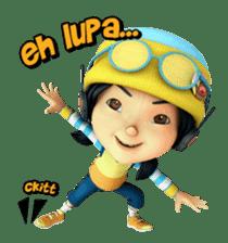 BoBoiBoy sticker #8118140