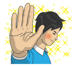 Textbook goes koo-koo! part 2 sticker #8121055