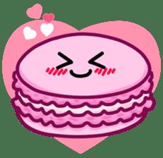 Sweets Macaron Family sticker #8129205