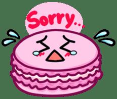 Sweets Macaron Family sticker #8129207
