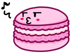 Sweets Macaron Family sticker #8129208