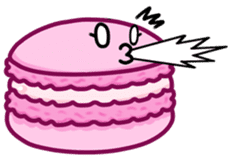 Sweets Macaron Family sticker #8129210
