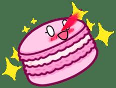 Sweets Macaron Family sticker #8129211