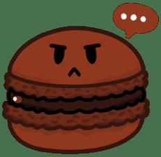 Sweets Macaron Family sticker #8129219