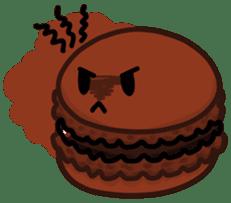 Sweets Macaron Family sticker #8129221