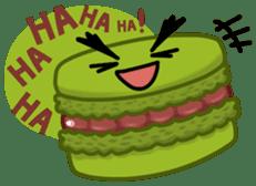 Sweets Macaron Family sticker #8129224
