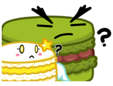 Sweets Macaron Family sticker #8129237