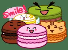 Sweets Macaron Family sticker #8129240