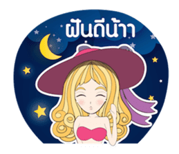 Barbieswink Girl sticker #8132605