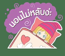 Barbieswink Girl sticker #8132609