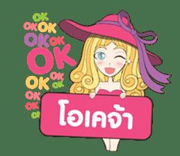 Barbieswink Girl sticker #8132621